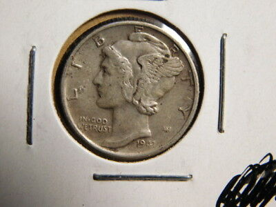 1941-S   Mercury Dime     VERY FINE     SILVER    FREE SHIP