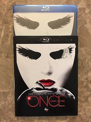 NEW Once Upon A Time: The Complete Fifth Season 5 w/ Slip Cover Blu Ray Disc