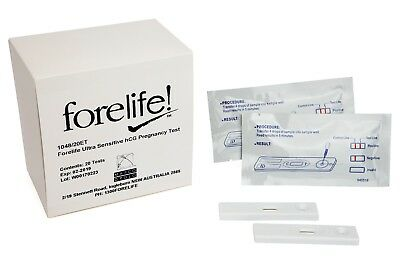 Forelife Professional Pregnancy 20 Test Pack