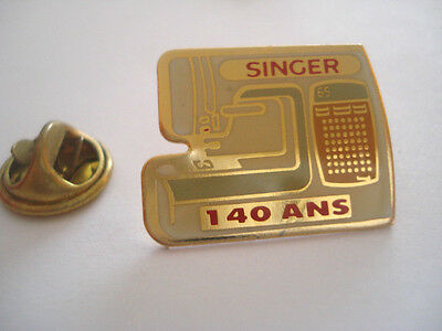Pins Machine A Coudre Singer Couture Mode Mercerie