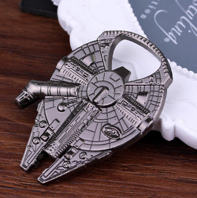 New Alloy Kitchen Bar Tools Beer Wine Bottle Opener Millennium Falcon Spaceship