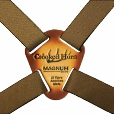 Crooked Horn Brown Magnum Binocular Harness System