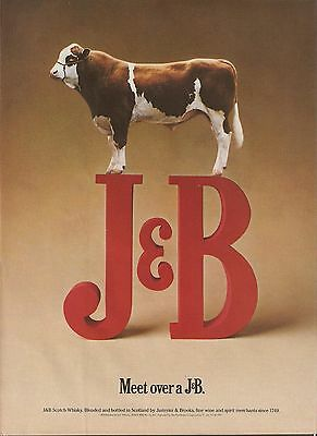J & B Scotch Whiskey advertisement, 1991 magazine clipping - print ad
