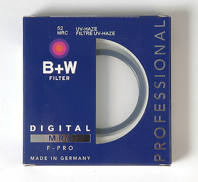 B+W 52mm Mrc UV Haze Protective Filter For Pentax Sony Canon Nikon Olympus Leica