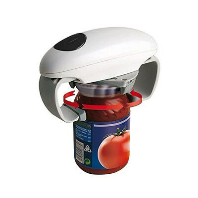 Automatic Handheld Electric Can Opener Durable Power Knife Sharpener Portable