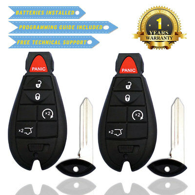 2x Replacement Key Fob Keyless Entry Remote Start Transmitter for M3N5WY783X 5B