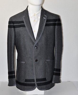 NWT Brooks Brothers Black Fleece Thom Browne Gray Wool Blazer SZ BB3 42