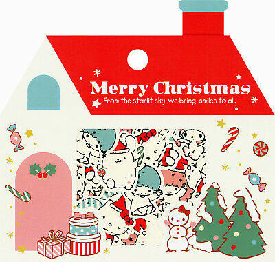 """Sanrio Hello Kitty and Other Characters """"Christmas"""" Sack o' Stickers"""