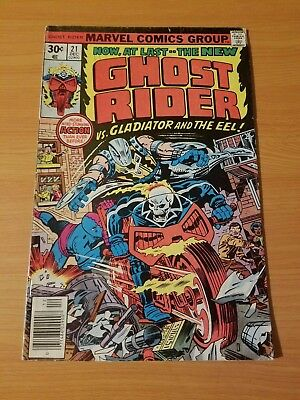Ghost Rider #21 ~ VERY GOOD - FINE FN ~ (1976, Marvel Comics)