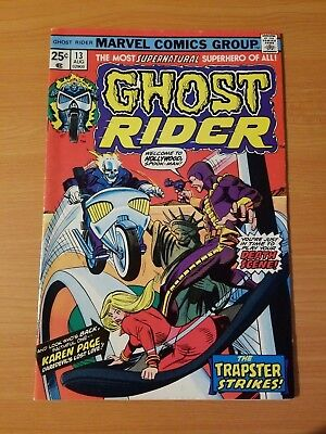 Ghost Rider #13 ~ VERY FINE - NEAR MINT NM ~ (1975, Marvel Comics)