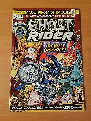 Ghost Rider #8 ~ VERY FINE - NEAR MINT NM ~ (1974, Marvel Comics)