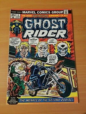Ghost Rider #6 ~ VERY FINE VF ~ (1974, Marvel Comics)