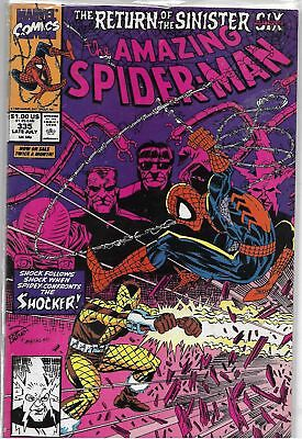 Amazing Spider-Man U-PICK ONE #335 or 338 Marvel 1991 Issues PRICED PER COMIC