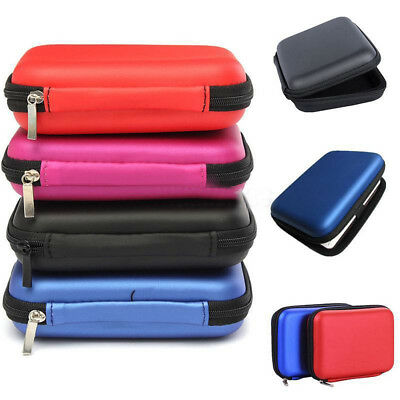 HK- 2.5 Inch External USB Hard Drive Disk Carry Case Pouch Bag for SSD HDD Noted