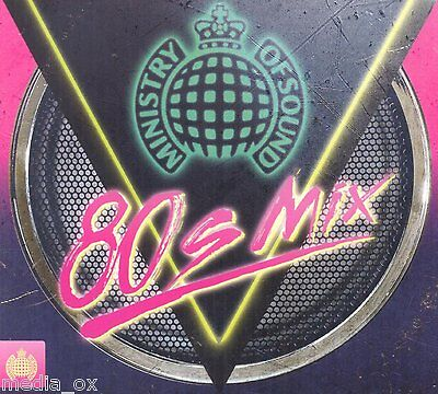 Ministry of Sound - 80s Mix   4 Disc CD Box Set Album   New   Fast Free Delivery