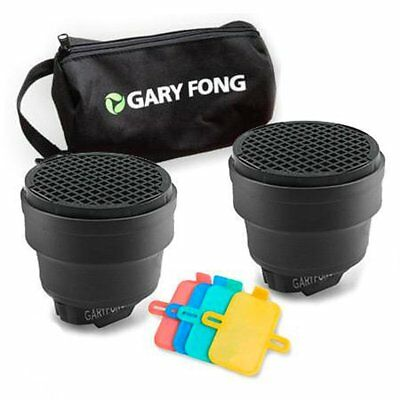 Gary Fong Dramatic Lighting Kit, Includes 2x Speed Snoot, Color Gel Filter Kit
