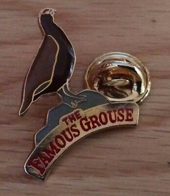 pin's pins lapel pins animaux oiseaux bird the famous grouse