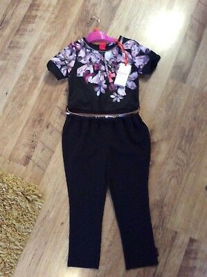 New Girls Jumpsuit Baker By Ted Baker Trousers Bnwt Party Christmas Age 5 Years