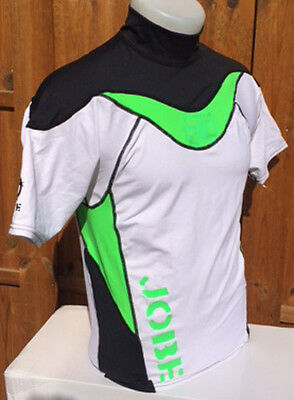 Rash Guard Lycra Green Jobe - M - sèche rapidement - léger - jetski -wake-paddle