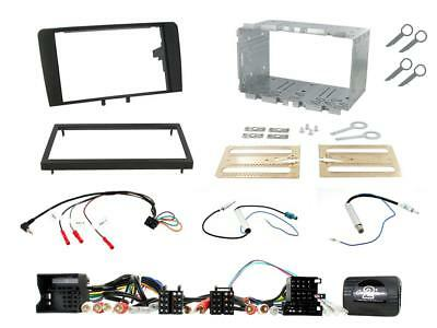 CTKAU01 Complete Double Din Car Stereo Fitting Kit : AUDI A3 Mk2 8P 03 on