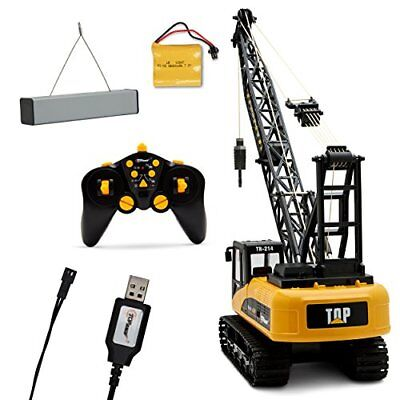 Proffesional Series 15 Channel Remote Control Crane 1:14 Scale Battery Powered