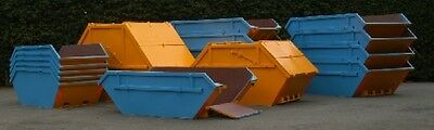 NEW Open/Enclosed Waste/Builders Skips. Hooklift. RORO. Stock 8th Dec 2017