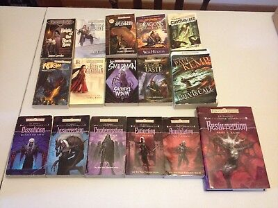 Forgotten Realms War of the Spider Queen Dungeons and Dragons D&D Lot 16 Books