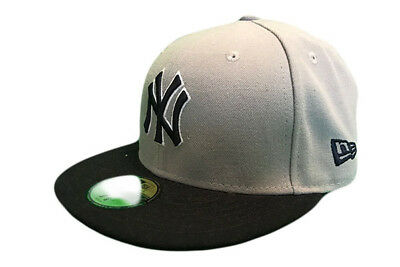 New York Yankees Reverse Team New Era 59/Fifty Fitted MLB Baseball cap 7 1/8