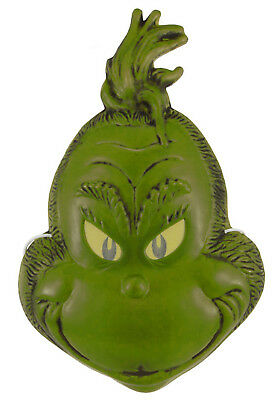 The Grinch - Adult Vacuform Half Mask - Elope