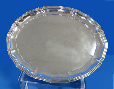 """800 Silver 12"""" Oval Serving Tray made by Alexander Sturm -- Free Shipping *"""