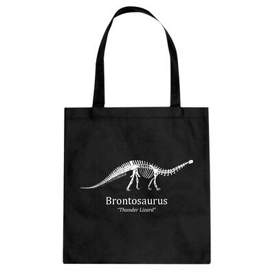 Tote Brontosaurus Canvas Shopping Bag #3537