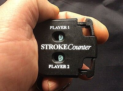Retractable Score Counter Hand Held. Clip to your belt or bag.