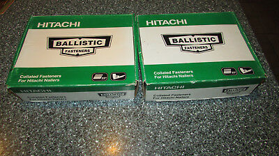"""Hitachi 17641 #8 x 2""""  Collated  Screws - 2 Boxes"""