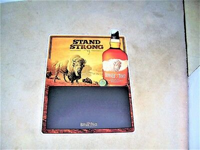 Buffalo Trace Stand Strong Metal Chalkboard Tin Sign New 