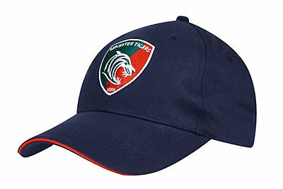Kukri Mens Leicester Tigers 2017/18 Rugby Baseball Cap Hat Headwear Sports