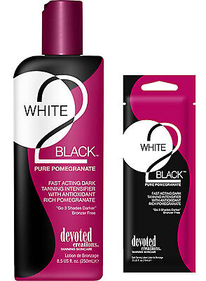 Devoted Creations WHITE 2 BLACK PURE POMEGRANATE Tan Accelerator - Fast Dispatch