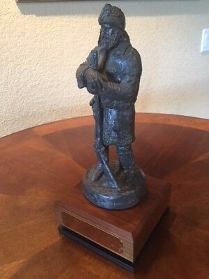 Michael Garman Mountain Man Sculpture