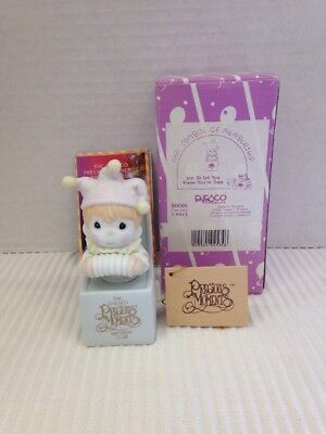 Precious Moments Jest To Let You Know You're Tops B0006 1991 Member Enesco Clown