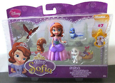 Mattel Y6640 Disney Sofia die Erste Princess Sofia Animal Friends Figur NEU OVP