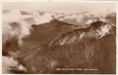 Postcard - Ben Nevis - View from the Summit