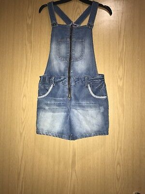 Dungarees Shorts One Piece Age 11-12 Excellent Condition