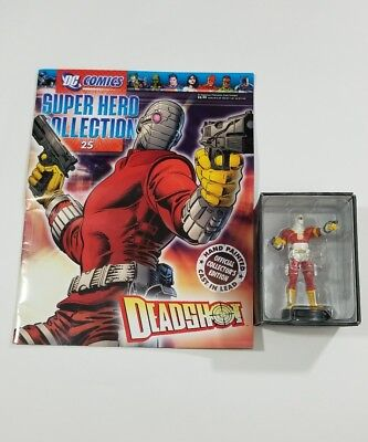 Eaglemoss DC Comics Super Hero Collection: #15 Deadshot Figurine