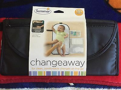 New Summer Infant - ChangeAway Portable Changing Pad & Diaper Kit
