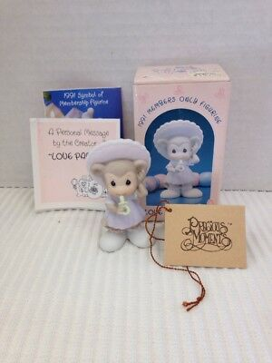 Precious Moments LOVE PACIFIES Baby Monkey with Pacifier BC911 Box Tags Vessel