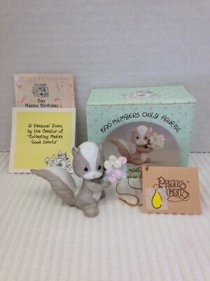 1990 Precious Moments Members Only Figurine - Collecting Makes Good Scents BC901