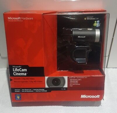 Microsoft LifeCam Cinema H5D-00013 Model 1393 BRAND NEW SEALED