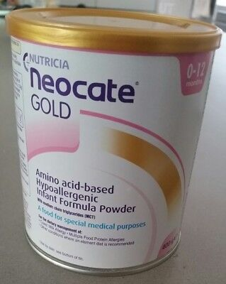 neocate gold 0-12 months