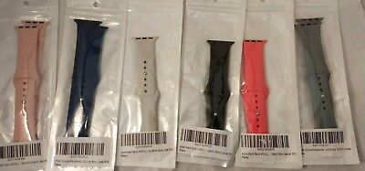 Apple iWatch, Apple Watch Sport Bands-38 mm Set of 6 colors