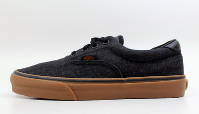 e79ad9d7fe VANS ERA 59 (Denim C L) Black Gum Men s Size 8