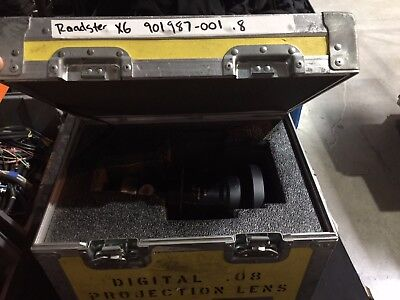 .8 Christie Projector Lens #901987-001